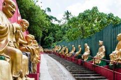 10 тысяч монастырь Buddhas (человек тучное Sze) Стоковая Фотография RF
