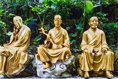 10 тысяч монастырь Buddhas (человек тучное Sze) Стоковые Фотографии RF