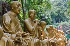 10 тысяч монастырь Buddhas (человек тучное Sze) Стоковые Изображения