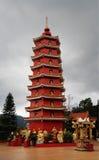 10 тысяч монастырь Buddhas (человек тучное Tsz) в олове Sha, Гонконге Стоковые Фотографии RF