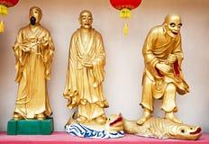 10 тысяч монастырь Buddhas Стоковая Фотография