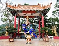 10 тысяч монастырь Buddhas Стоковое фото RF