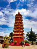 10 тысяч пагода скита Будды стоковое изображение rf