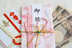 10 тысяч счеты иен Стоковые Фото