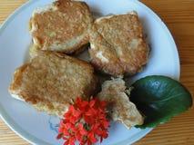 Тэмпура тофу сыра Стоковая Фотография