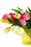 тюльпаны весны букета цветастые Стоковое Фото