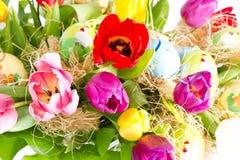 тюльпаны пасхальныхя Стоковое Изображение RF