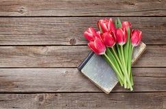 тюльпан 01 красного цвета Стоковое Изображение