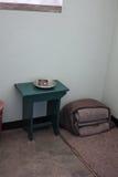 Тюремная камера Нелсон Мандела Стоковая Фотография RF