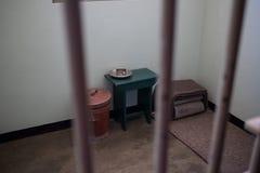 Тюремная камера Нельсона Манделы стоковые изображения