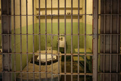 Тюремная камера Alcatraz Стоковое Изображение RF