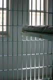 тюрьма клетки старая стоковая фотография