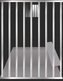 тюрьма клетки бесплатная иллюстрация