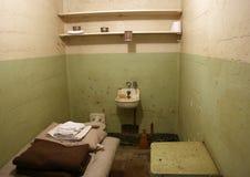 тюрьма клетки alcatraz стоковые изображения