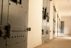 тюрьма клеток стоковая фотография