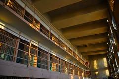 тюрьма клеток alactraz Стоковые Фото