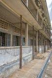 Тюрьма музея геноцида Tuol Sleng на Пномпень, Камбодже Стоковое фото RF