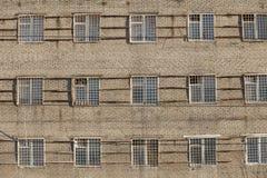Тюрьма окон решеток Стоковые Изображения RF