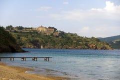 Тюрьма Порту Azzurro стоковое изображение