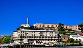 Тюрьма Alcatraz в Сан-Франциско, Калифорнии Стоковая Фотография
