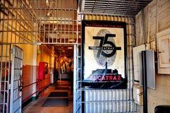 Тюрьма Alcatraz в Сан-Франциско, Калифорнии Стоковые Фото