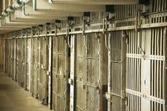 Тюрьма Alcatraz, тюрьма стоковые фотографии rf