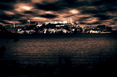 тюрьма alcatraz Стоковые Фото