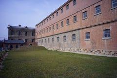 Тюрьма Lushun построенная Россией и Японией стоковое фото