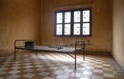 тюрьма s phnom penh 21 смерти Стоковые Фотографии RF