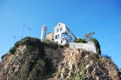 тюрьма san francisco alcatraz Стоковое Фото