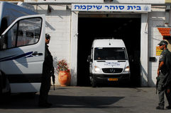 Тюрьма Shikma - Израиль Стоковое Изображение RF