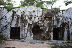 Тюрьма Socrates стоковое фото rf