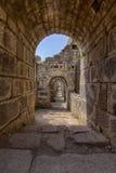 Тюрьмы акрополя, древнегреческия Стоковые Изображения RF