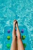тюфяк ног Стоковая Фотография RF