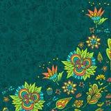 тюльпан весны фокуса цветка края предпосылки далекий Стоковые Фотографии RF