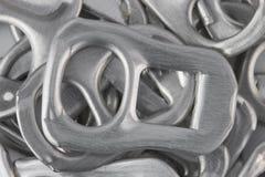 Тяга кольца металла конца-вверх может Стоковая Фотография RF