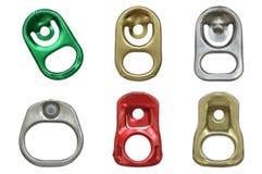 Тяга кольца металла может Стоковые Фото