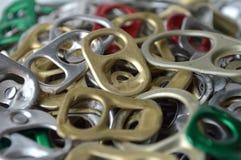 Тяга кольца металла может Стоковое Изображение