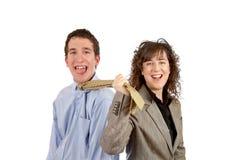 тяги галстука Стоковая Фотография RF