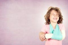 Тягостное выражение лица на ребенк Стоковое фото RF