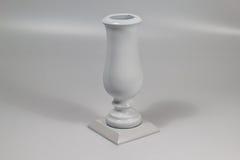 Тягчайшая ваза цветка сделанная камня 01 Стоковые Фото