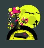 тягчайшие грибы Иллюстрация штока