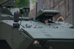 Тяжелое военное транспортное средство Стоковое фото RF