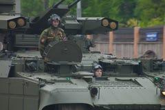 Тяжелое военное транспортное средство Стоковое Изображение RF