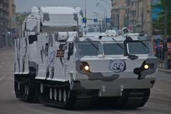 Тяжелое военное транспортное средство Стоковая Фотография