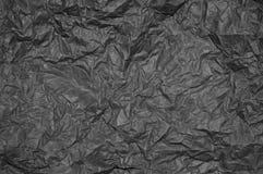 Тяжело скомканная пергаментная бумага стоковые изображения rf