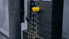 Тяжелые доски черного листового железа штабелированные машины веса Стоковое Изображение RF