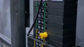 Тяжелые доски черного листового железа штабелированные машины веса Стоковые Фотографии RF