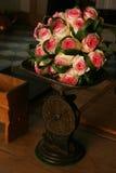 тяжелые розы Стоковое Изображение