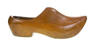 Тяжелый деревянный ботинок Стоковая Фотография RF